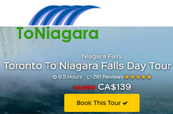 Toronto To Niagara Falls Day Tour