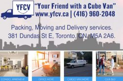 Your Friend with a Cube Van Inc