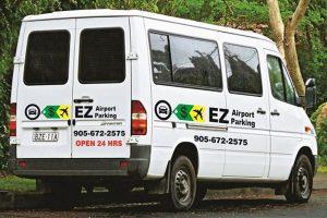EZ Airport Parking Shuttle Toronto