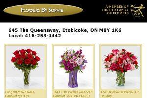Flowers by Sophie Etobicoke