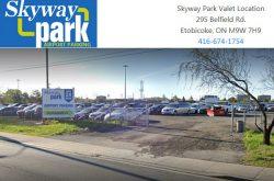 Skyway Park Valet Location