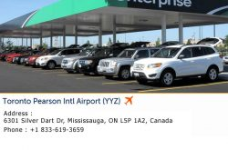 Enterprise Car Rental Pearson Airport