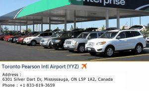 Enterprise Car Rental Pearson Airport