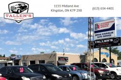 Tallen's Auto Sales Kingston ON