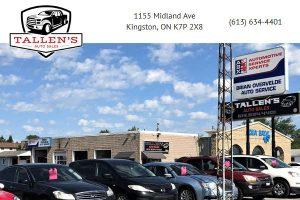 Tallen's Auto Sales Kingston ON