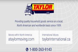 Taylor Moving Burlington