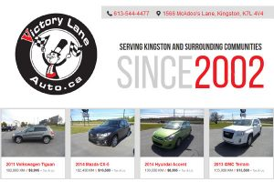 Victory Lane Auto Sales Ltd Kingston