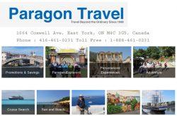 Paragon Travel Toronto