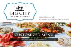 Big City Gourmet Catering Richmond Hill