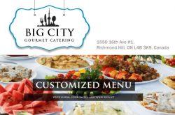 Big City Gourmet Catering Richmond Hill