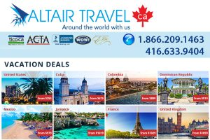Altair Travel Agency Toronto