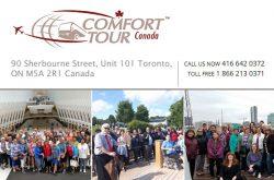 Comfort Tours Toronto