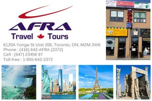 Afra Travel Inc Toronto