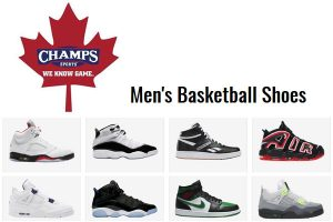 Champs Canada Mens Basketball Shoes