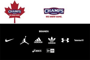 Champs Sports Canada Brands