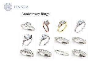 Linara Anniversary Rings Toronto