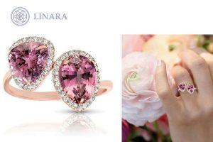 Custom Pink Diamond Ring Toronto