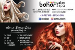 Bahar Salon and Spa North York ON