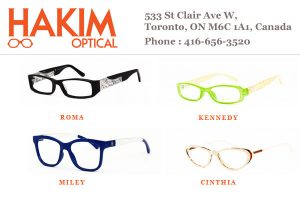Hakim Optical Frames Toronto