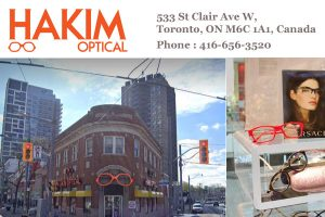 Hakim Optical St Clair and Vaughan Road
