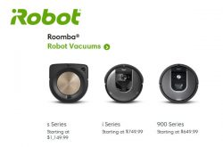 Roomba Robot Vacuums Canada