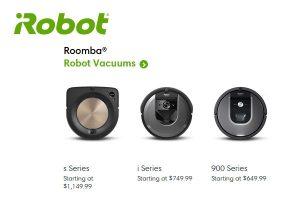 Roomba Robot Vacuums Canada