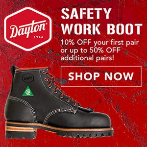 Dayton Safety Work Boots
