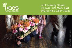 Kaas Floral Design Toronto GTA