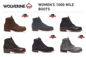 Wolverine Women's 1000 Mile Boots