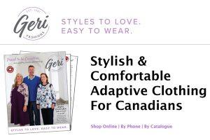 Geri Fashions Adaptive Clothing