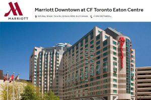 Marriott Hotels in Toronto Ontario