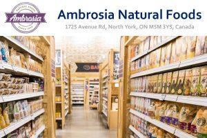 Ambrosia Natural Foods Toronto