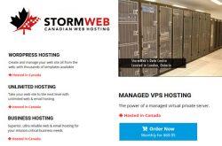 StormWeb Hosting Canada
