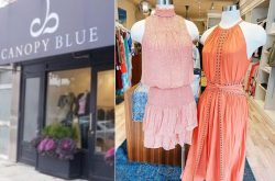 Canopy Blue Womens Clothing Midtown Toronto