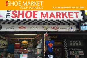 The Shoe Market Yonge St Toronto