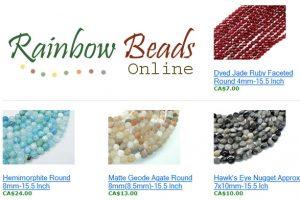 Rainbow Beads online