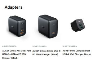 Aukey Canada Adapters