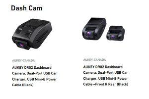 Aukey Canada Dash Cam