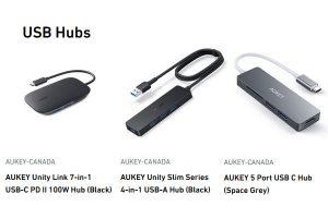 Aukey Canada USB Hubs