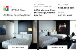 Alt Hotel Toronto Airport (YYZ)